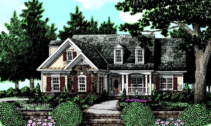 Jasmine House Plan Elevation