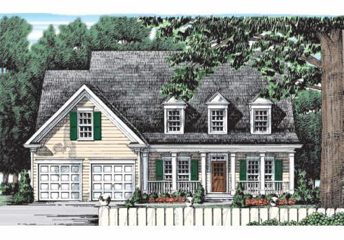 Willowbrook House Plan Elevation