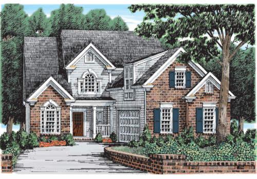 Broadmoor House Plan Elevation