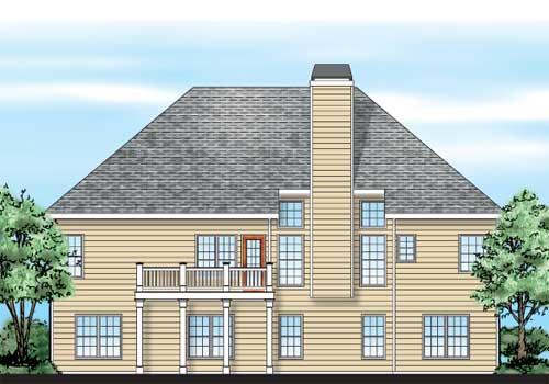 Allen House Floor Plan Frank Betz Associates