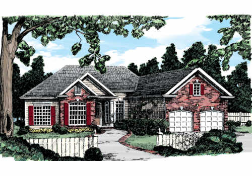 Birmingham House Plan Elevation