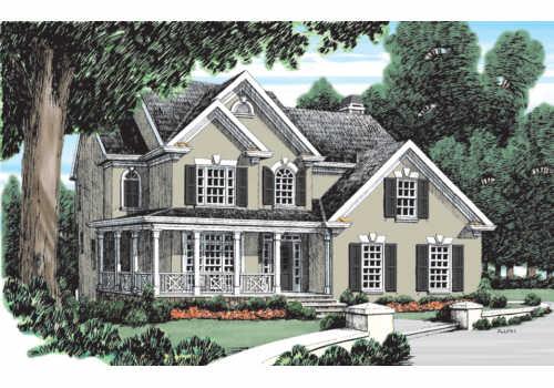 Gershwin House Plan Elevation