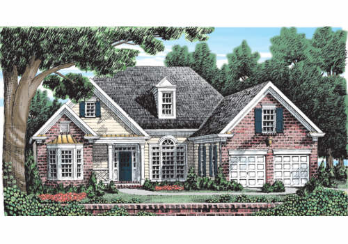 Priceville House Plan Elevation