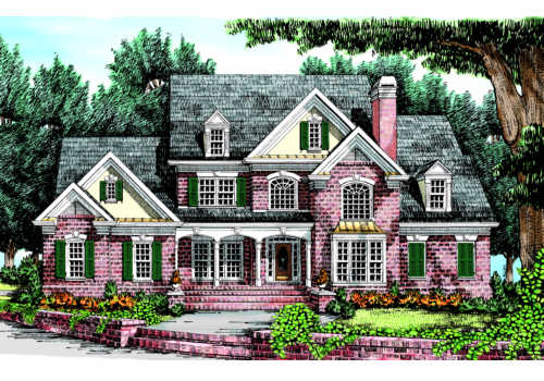 Hermitage House Plan