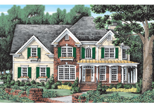 Brockett House Plan