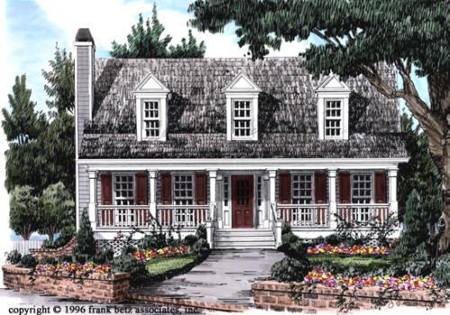 Bartlett House Plan