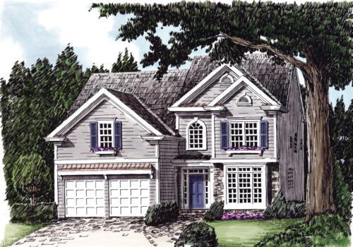 Brookside House Plan Elevation
