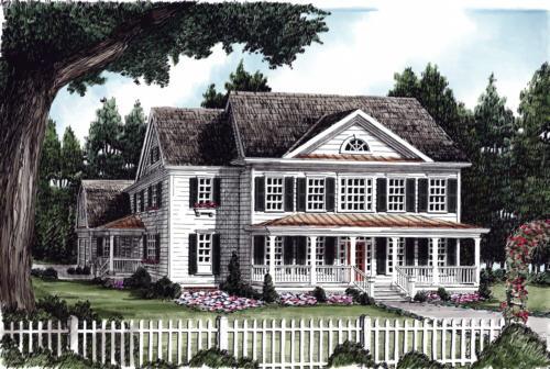 Kennebunkport House Plan
