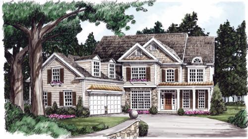 Kilbride House Plan Elevation