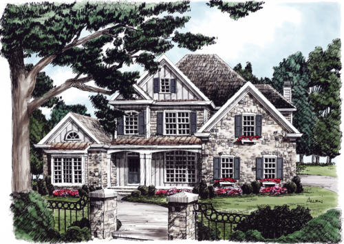Summerfield House Plan