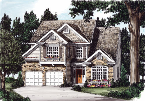 Wharton House Plan
