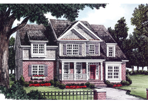 Armistead House Plan Elevation