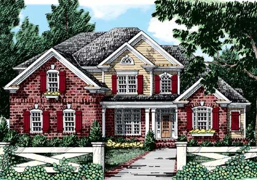Ashton House Plan Elevation