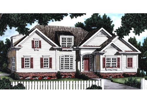 Avondale House Plan Elevation