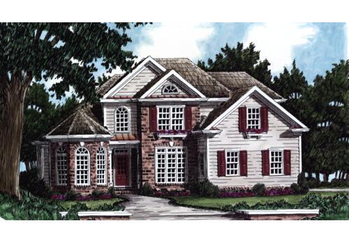 Beaufort House Plan Elevation