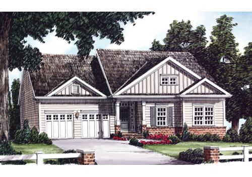 Buckner House Plan Elevation