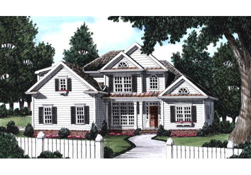Bullock House Plan Elevation