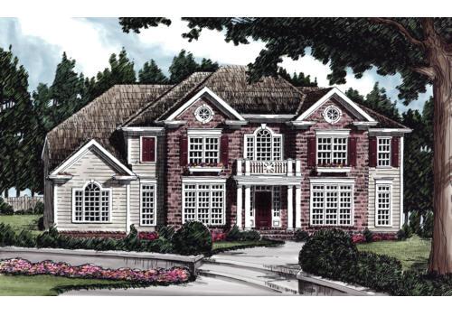 Dunston House Plan Elevation