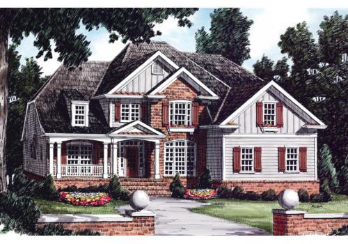 Glenhaven House Plan Elevation