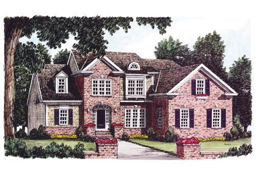 Goodwyn House Plan Elevation