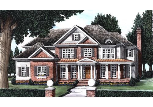 Kingsdale House Plan