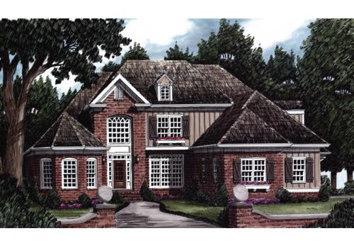 Montfort House Plan Elevation