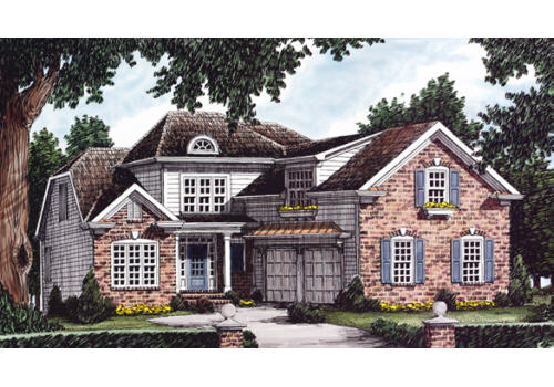 Neville House Plan Elevation