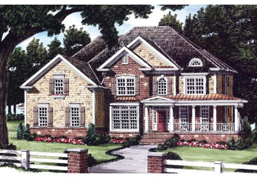 Terilyn House Plan Elevation