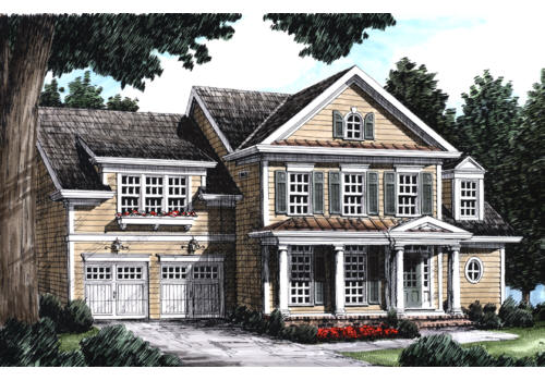 Chestnut Springs House Plan Elevation