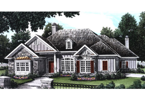 Clearbrook House Plan Elevation