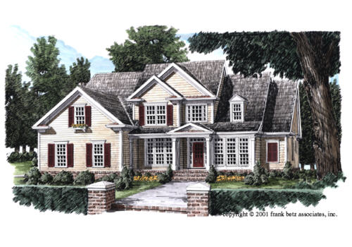 Copeland House Plan Elevation