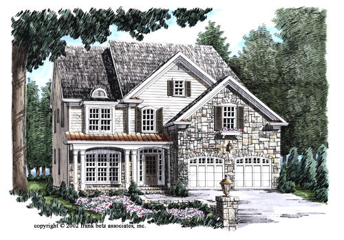 Morristown House Plan Elevation