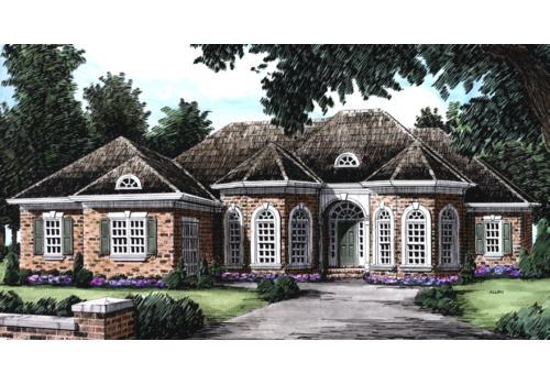 Rosehall House Plan