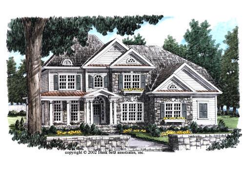 Stone Bluff House Plan