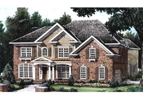 Walcott House Plan Elevation