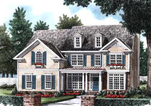 Westbourne House Plan