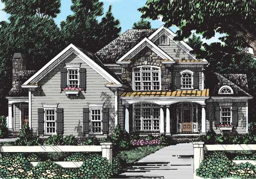 Westbury House Plan Elevation