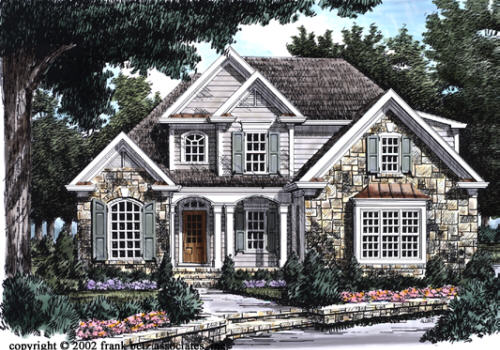 Bouldercrest House Plan Elevation