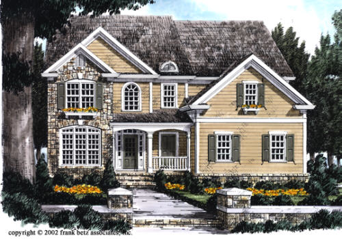 Eldridge House Plan Elevation