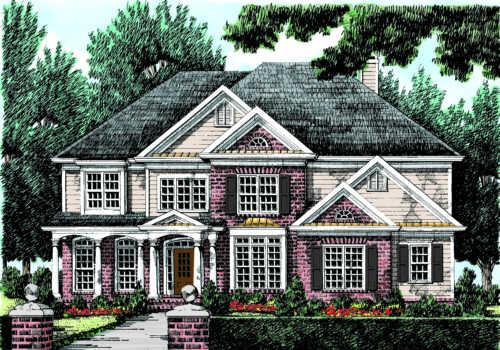 Lanesborough House Plan