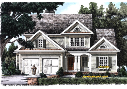 Willow Ridge House Plan Elevation