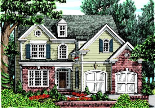 Bostwick House Plan