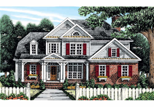 Campbellton House Plan Elevation