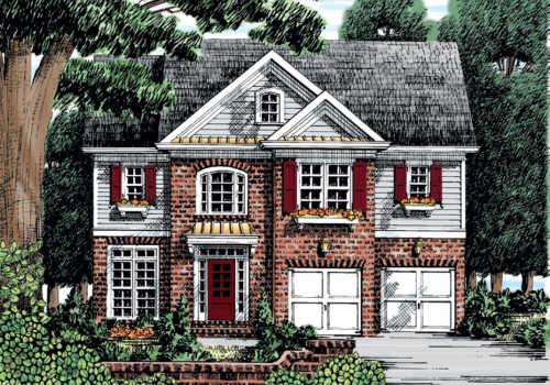 Chesney House Plan Elevation