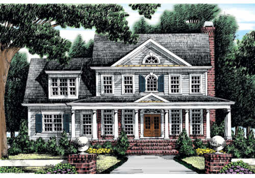 Clarkston House Plan Elevation