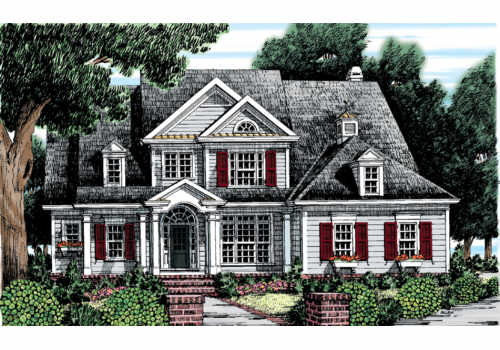 Germantown House Plan Elevation