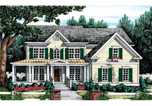 Hyde Park House Plan