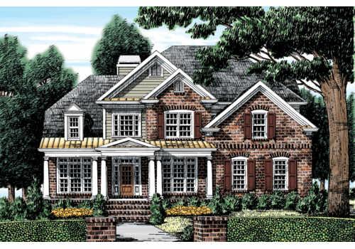 Lakeshore House Plan Elevation