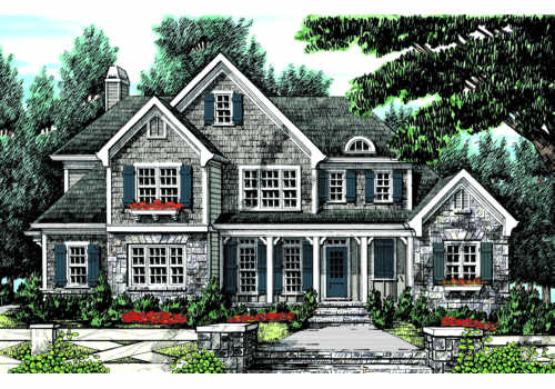 Montaigne House Plan Elevation
