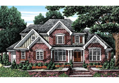 Muirfield House Plan Elevation